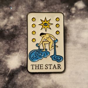 Tarot Card The Star Fortune Telling Pin